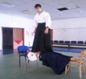 Teste do Ki corpo em prancha